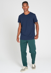Herren Canvas Hose aus Bio Baumwollle grün | Canvas Pants - recolution