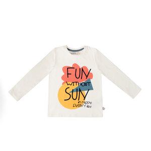 "Langarmshirt aus Bio-Baumwolle ""Fun without Sun"" - Marraine Kids"