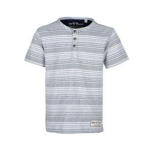GP Micro  - Geringeltes Kinder T-Shirt Kurzarm aus 100% Bio-Baumwolle - Band of Rascals