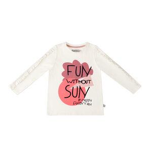 """Langarmshirt mit Rüschen """"Fun without Sun"""" - Marraine Kids"""