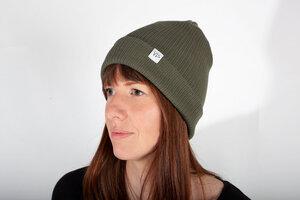 Frauen Mütze, Beanie aus Bio Baumwolle - vis wear
