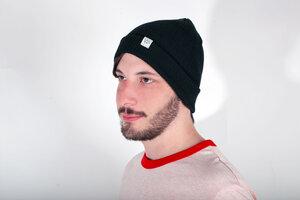 Männer Mütze, Beanie aus Bio Baumwolle - vis wear
