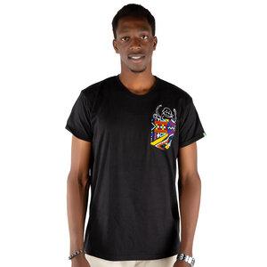 """Herren T-Shirt aus Bio-Baumwolle mit Brusttasche """"NYANI"""" Made in Kenya - Kipepeo-Clothing"""
