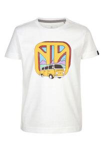 Kinder T-Shirt Elk Transport mit VW Bulli Print - Elkline