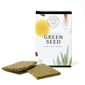 "Nussbeerschokolade ""Green Seed"" - Sweet Elephant Chocolate"