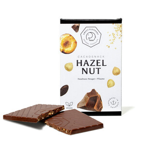 "Nussbeerschokolade ""Hazelnut"" - Sweet Elephant Chocolate"