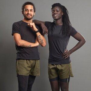 Running Shorts (Damen / Herren), plastikfrei, Lyocell, verschiedene Farben - runamics
