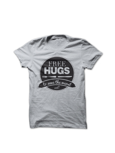'Free Hugs to save the wurst', T-Shirt Herren - What about Tee