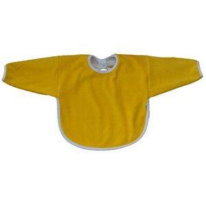 Baby Lätzchen-Langarmlätzchen gelb Bio Baumwolle - Popolini