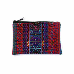 """Täschchen """"Nievito"""" - kleine handgefertigte Allrounder für Kosmetik, Schmuck oder Geld aus Guatemala - KIKOONI"""