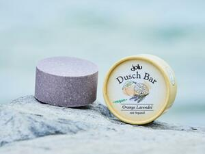Jolu Duschbar Orange Lavendel - Jolu Naturkosmetik