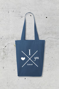 'I love you forever' ORGANIC Jutetasche - What about Tee