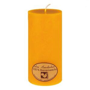 Bienenwachs Kerze, Stumpenkerze, 65x135mm - Kerzenfarm Hahn