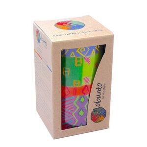 Kerzen Geschenkset - SHAHIDA / BONGAZI / KAPOKO - 1 x Stumpenkerze 7x11,5cm - nobunto Südafrika - Nobunto