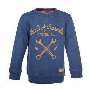 Kinder Sweatshirt mit Werkstattmotiv - Band of Rascals