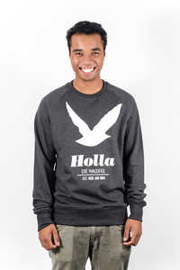 'Holla die Waldfee' ORGANIC Raglan Sweatshirt - What about Tee