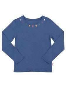 Kinder Langarm-Shirt Herzchen reine Bio-Baumwolle - Kite Clothing