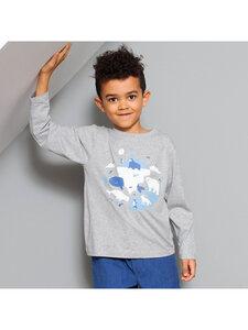 Kinder Langarm-Shirt Polartiere reine Bio-Baumwolle - Kite Clothing