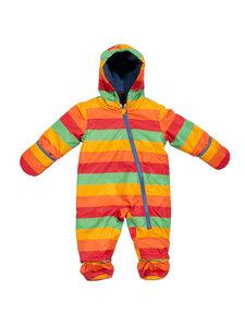 Baby und Kinder Schneeanzug Streifen Polyester (zum Teil recycelt) - Kite Clothing