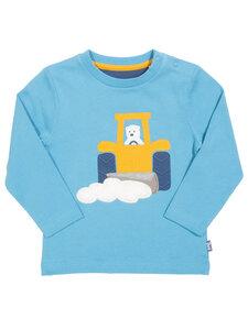Baby und Kinder Langarm-Shirt Traktor reine Bio-Baumwolle - Kite Clothing