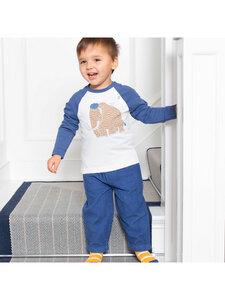 Baby und Kinder Cord-Hose Blau reine Bio-Baumwolle - Kite Clothing
