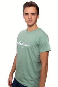 "T-Shirt ""Kawaida Mint"" aus Biobaumwolle - Herren - Matema"