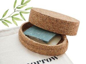 Seifenbox aus Kork für feste Seifen - Tomorrow Market