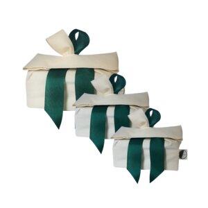 Dreierset wiederverwendbare Geschenkverpackungen - Goodgive