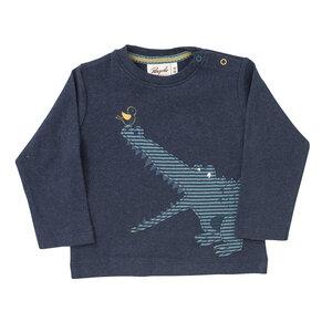 Baby und Kinder Langarm-Shirt Kroko reine Bio-Baumwolle - People Wear Organic
