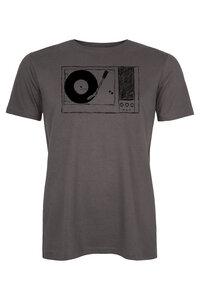 Plattenspieler Men Shirt aus Biobaumwolle Made in Kenia BL-DG ILK01 - ilovemixtapes