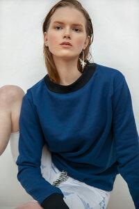 Der praktische Pullover Darya mit Kordelbund - Maqu