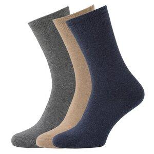 3 Paar Biobaumwolle Kaschmir Socken - Opi & Max