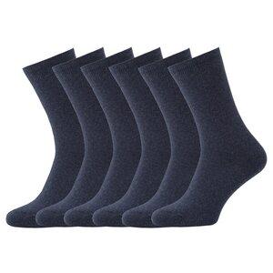 6 Paar Biobaumwolle Kaschmir Socken - Opi & Max