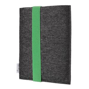 """Hülle LAGOA für Tablets & Laptops bis 15,9 """" - VEGANer Filz - anthrazit => genaues Modell bei der Bestellung angeben - flat.design"""
