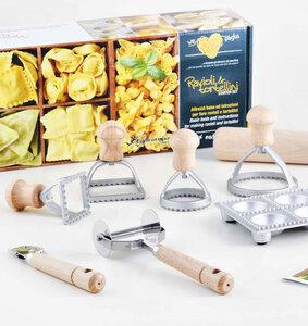 Eppicotispai Ravioli & Tortellini Zubereitungs / Pasta Starter Set - Herstellung von Teigwaren - extraGourmet