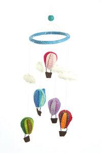 Mobile mit bunten Heißluftballons - short'n'pietz