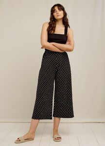 Culotte Hose - Chandre Ikat Print Trousers - aus Bio-Baumwolle  - People Tree