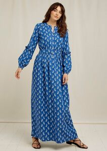 Maxi Kleid - V&A Neha Print Maxi Dress - People Tree
