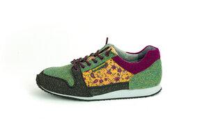 Nachhaltiger Sneaker Damen - Cork Traveller | flower - Doghammer