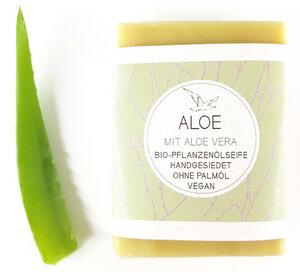 ALOE VERA Bio-Seife mit Aloe Vera ohne Duftstoffe - Küstenseifen Manufaktur