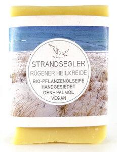 Strandsegler Bio-Seife mit Rügener Heilkreide ohne Duftstoffe - Küstenseifen Manufaktur