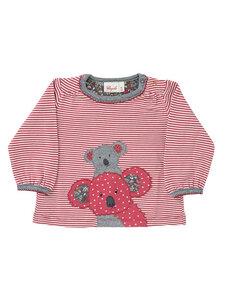 Baby und Kinder Ringel-Shirt Koala reine Bio-Baumwolle - People Wear Organic