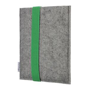 e-Book Reader Hülle LAGOA für Tolino - 100 % Wollfilz - hellgrau - flat.design
