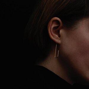 Vergoldete Ohrringe aus Silber - Natascha von Hirschhausen