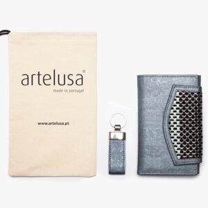 Geschenkset - Kork Brieftasche & Anhänger - Artelusa