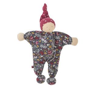 Püppchen Manderl grau bedruckt Ökologisch People Wear Organic - People Wear Organic