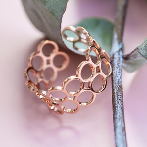 Verstellbarer Ring | gold, silber, roségold | AVA - ALEXASCHA