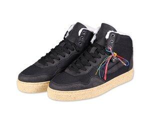 Gefütterterte Vegane Schuhe G-Soley Mid M-Suede/R-Pet Mesh - Genesis Footwear