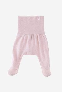 Bio Baby Pumphose mit Fuß und breitem Bund - Finn - Lana naturalwear