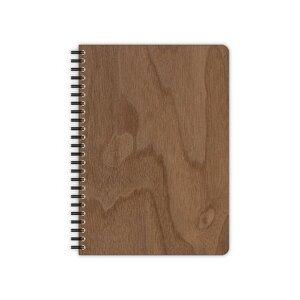 Echtholz Schreibblock A6, A5, oder A4 - Ahorn, Kirsche oder Nuss - echtholz
